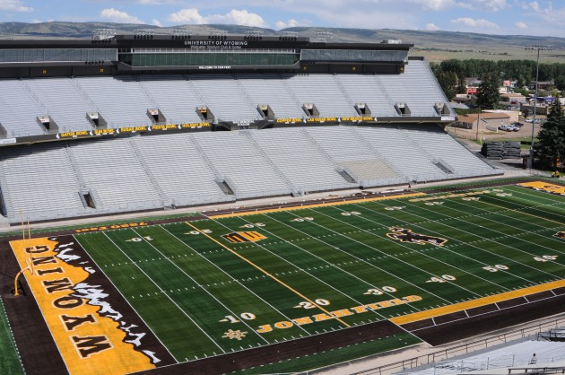 Wyoming Football Enters Final Week Of Spring Ball