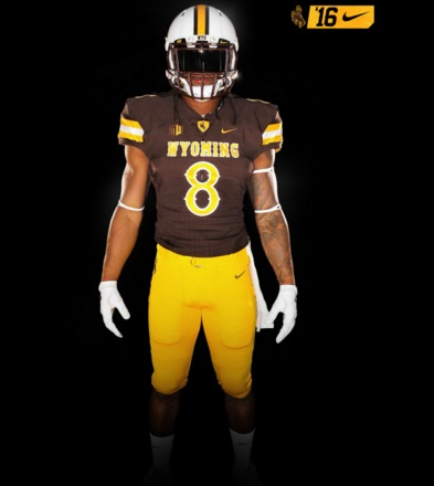 100% authentic 68898 1eb96 Wyoming Football Unveils New Uniforms For 2016 | Wyoming ...
