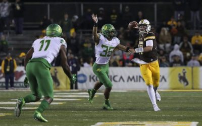 Oregon Sprints Past Wyoming With Balanced Offensive Attack