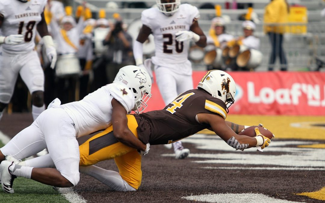Wyoming Rolls Texas State 45-10 In Last Non-Conference Game Of Season