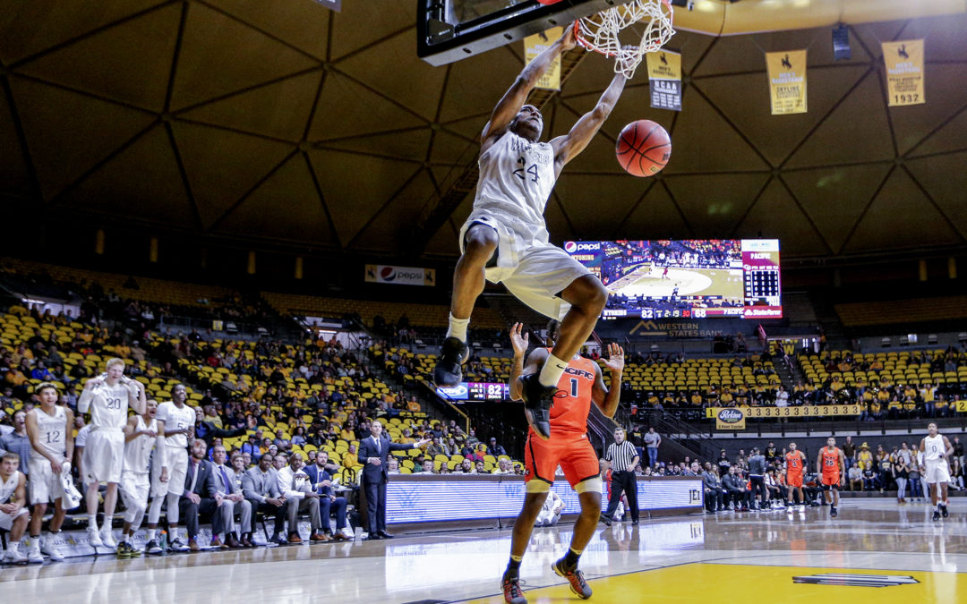 Wyoming vs Pacific Photo Gallery