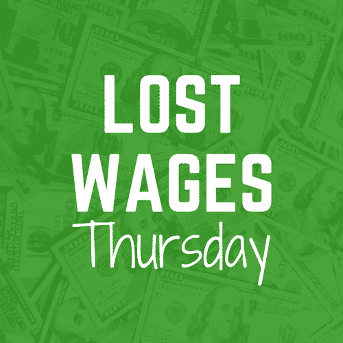 Lost Wages Thursday: Over And Under