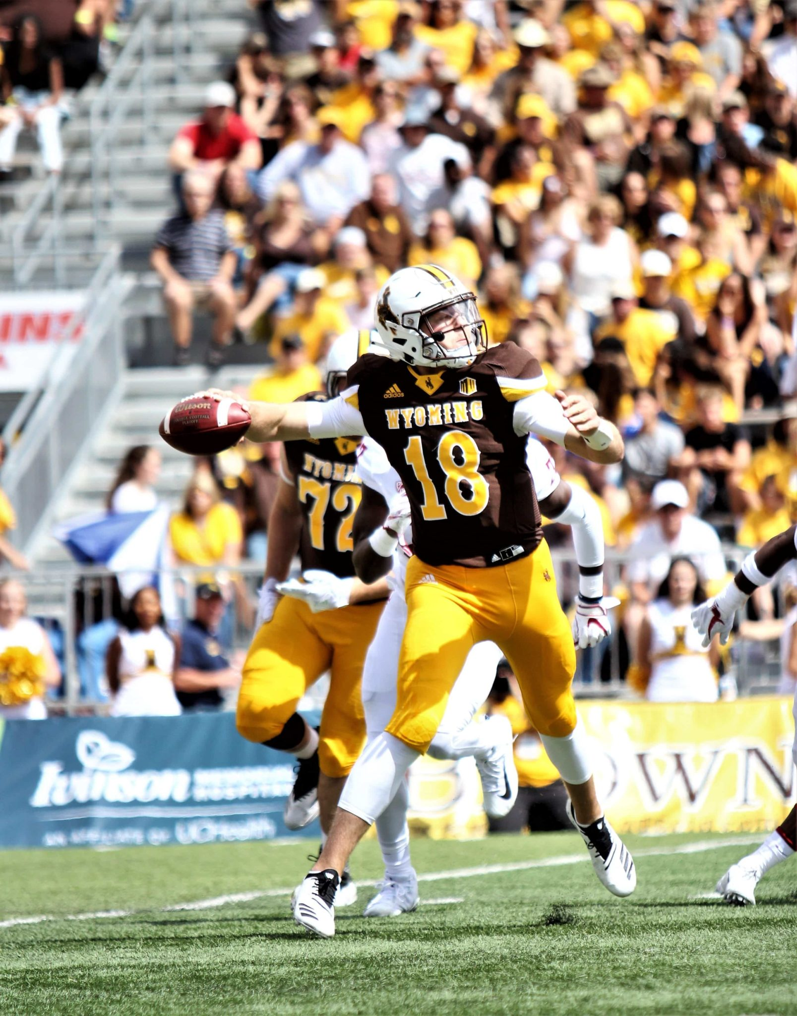 huge selection of 1d120 35116 5 Things I Think: Wyoming vs Wofford College | Wyoming ...