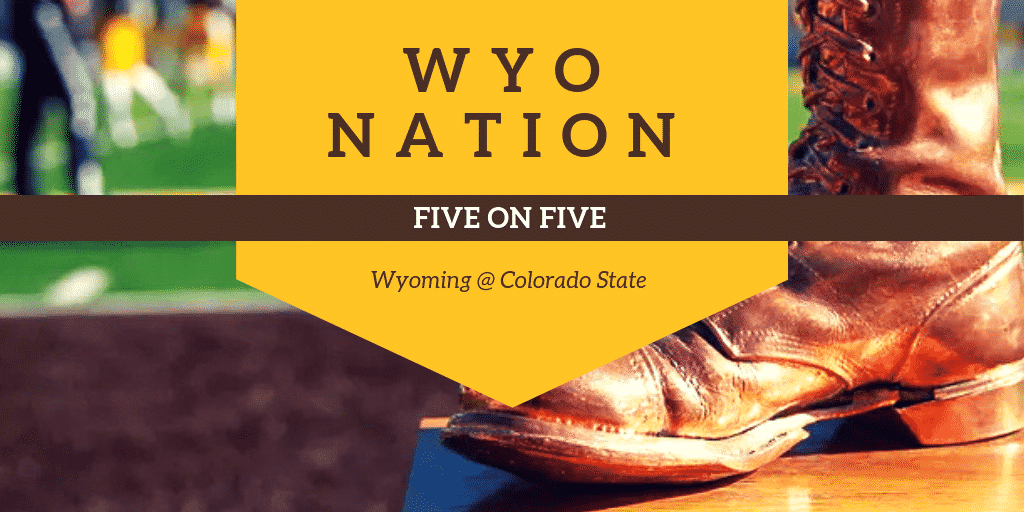 WyoNation 5 on 5: Wyoming @ Colorado State